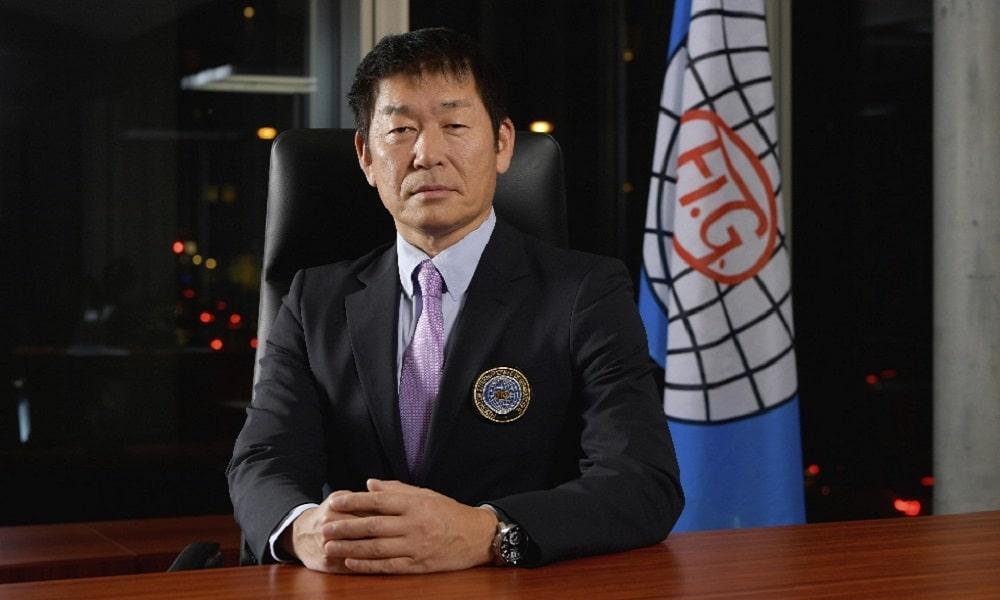 Morinari Watanabe, Presidente da Federação Internacional de Ginástica