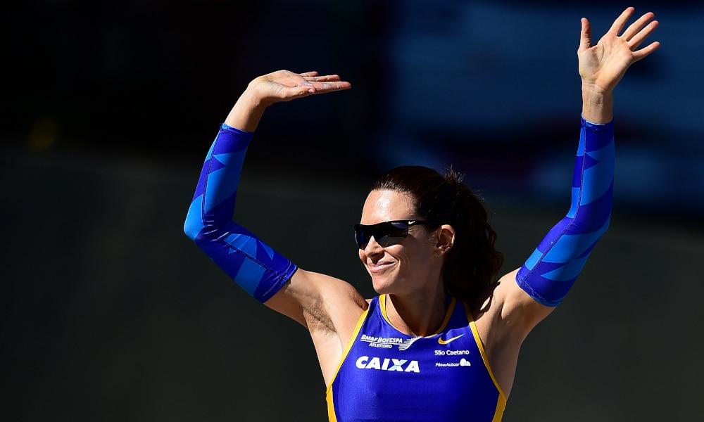 Fabiana Murer Atletismo Salto com Vara
