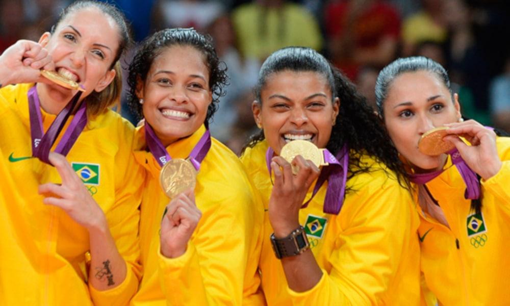 Fernanda Garay - seleção brasileira de vôlei - Olimpíada de Tóquio 2020 - ouro Londres 2012