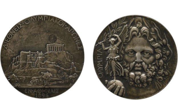 Medalhas dos Jogos Olímpicos de Atenas-1896