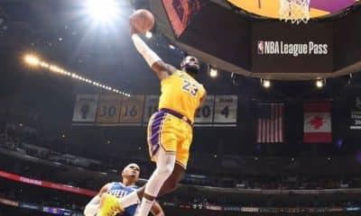 LeBron James, do Los Angeles Lakers, se diz contra cancelamento da temporada da NBA por conta da pandemia do coronavírus