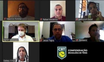 Confederação Brasileira de Tênis (CBT) apresenta planos para atletas do Tênis em Cadeira de Rodas - futuro após a pandemia do coronavírus