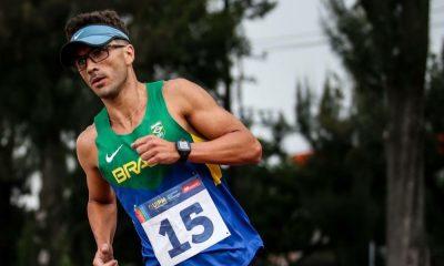 Laser-run pentatlo moderno competição virtual na quarentena - Danilo Fagundes