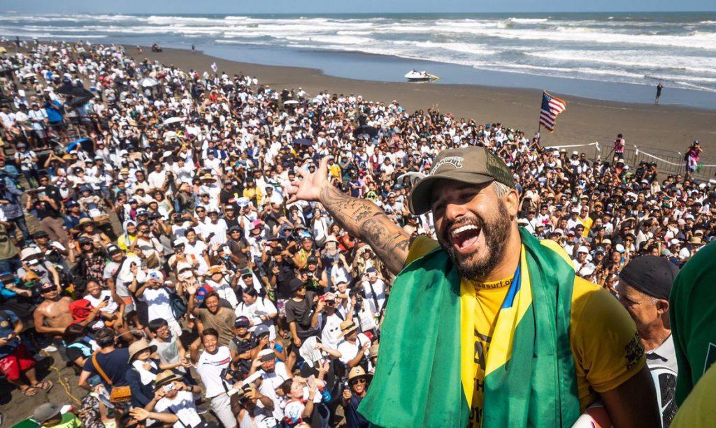 Ítalo Ferreira, campeão mundial de surfe, mirou o ouro para o Brasil nos Jogos Olímpicos de Tóquio, criticou o playoff final imposto pela WSL para a temporada de 2021