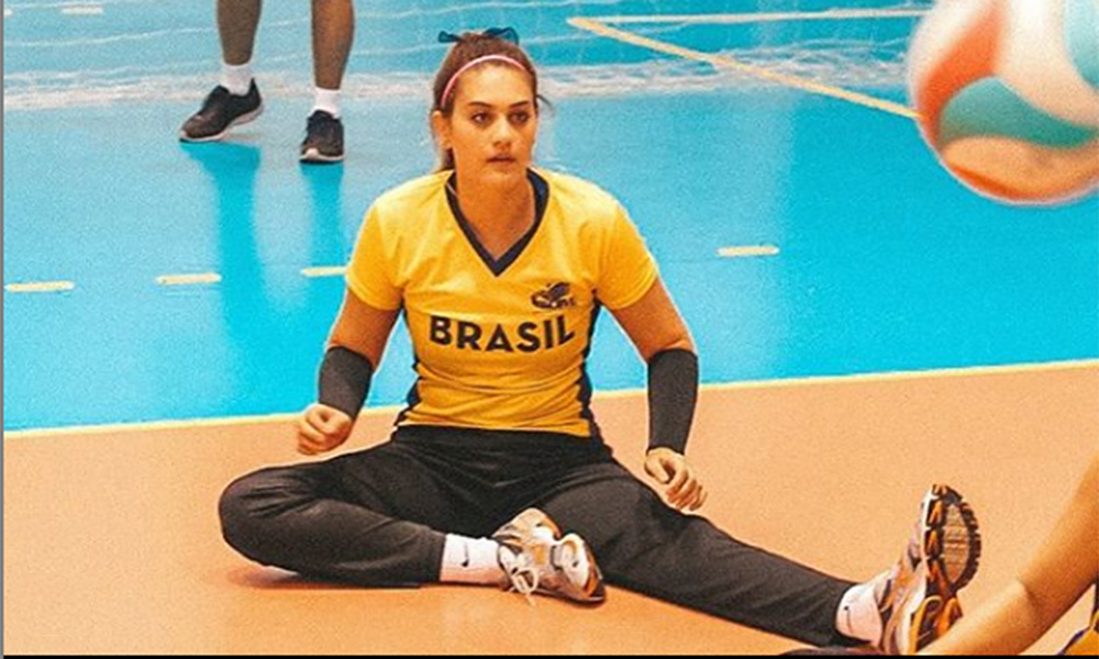 Luiza Fiorese vôlei sentado
