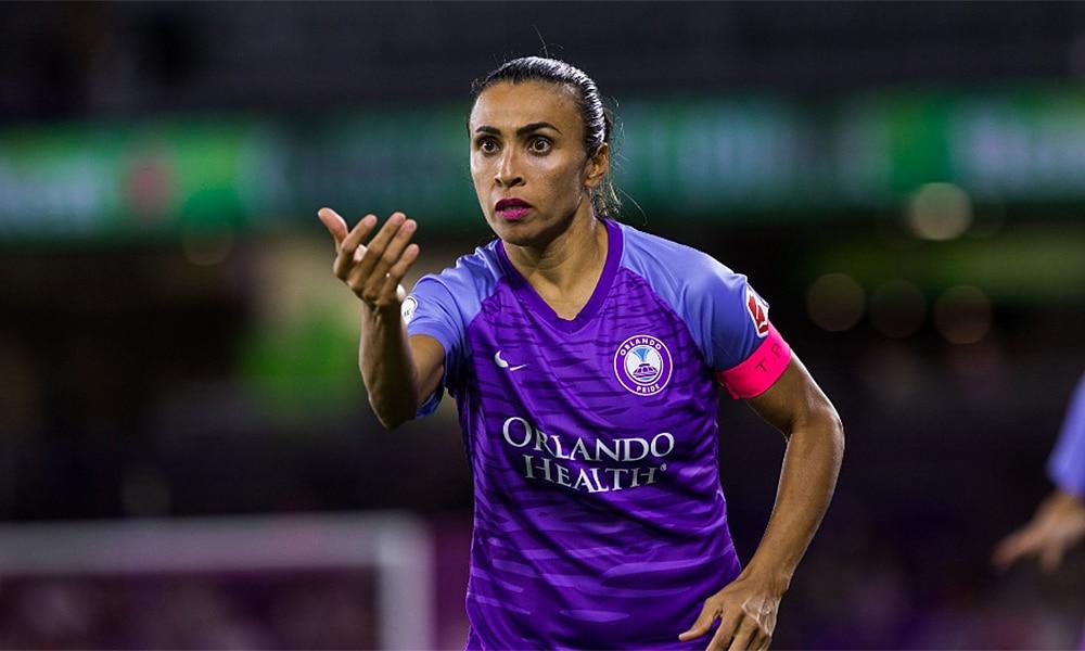 Marta Futebol feminino nwsl orlando pride