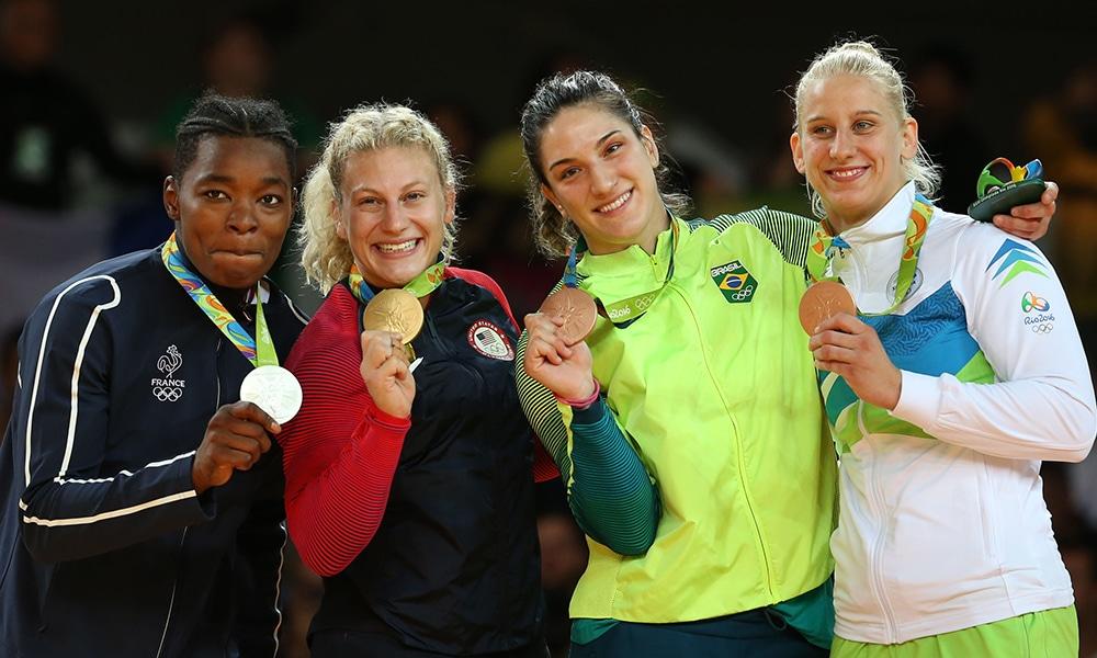 Mayra Aguiar judô Olimpíadas Rio 2016
