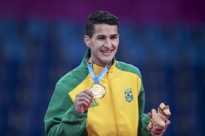 Netinho Edival Pontes taekwondo Jogos Olímpicos de Tóquio peso leve