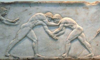 quem podia participar dos jogos olímpicos da antiguidade?