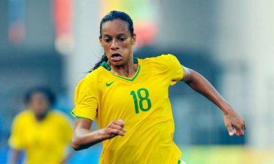 Rosana relembrou os Jogos Pan-Americanos do Rio de Janeiro, onde levou o ouro com a seleção brasileira de futebol feminino