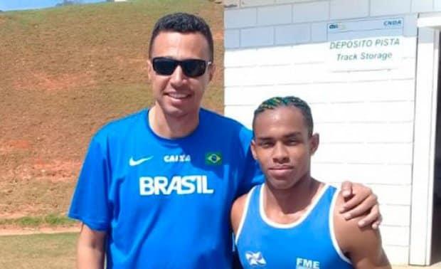 Dono do recorde brasileiro nos 400 metros rasos do atletismo há 20 anos, Sanderlei Parrela criticou os atletas da nova geração