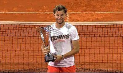 Dominic THiem conquista Adria Tour tênis