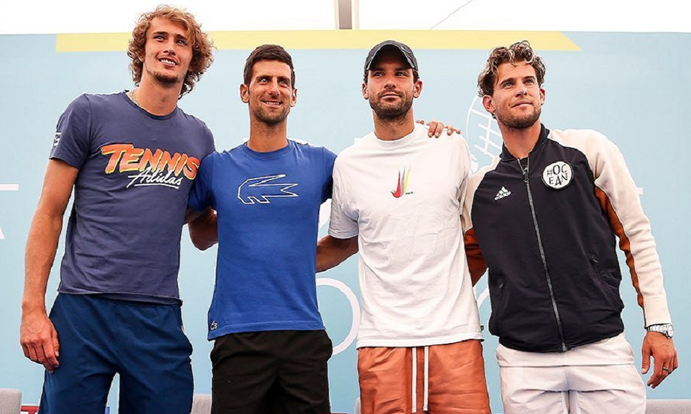 Adria Tour Novak Djokovic datas