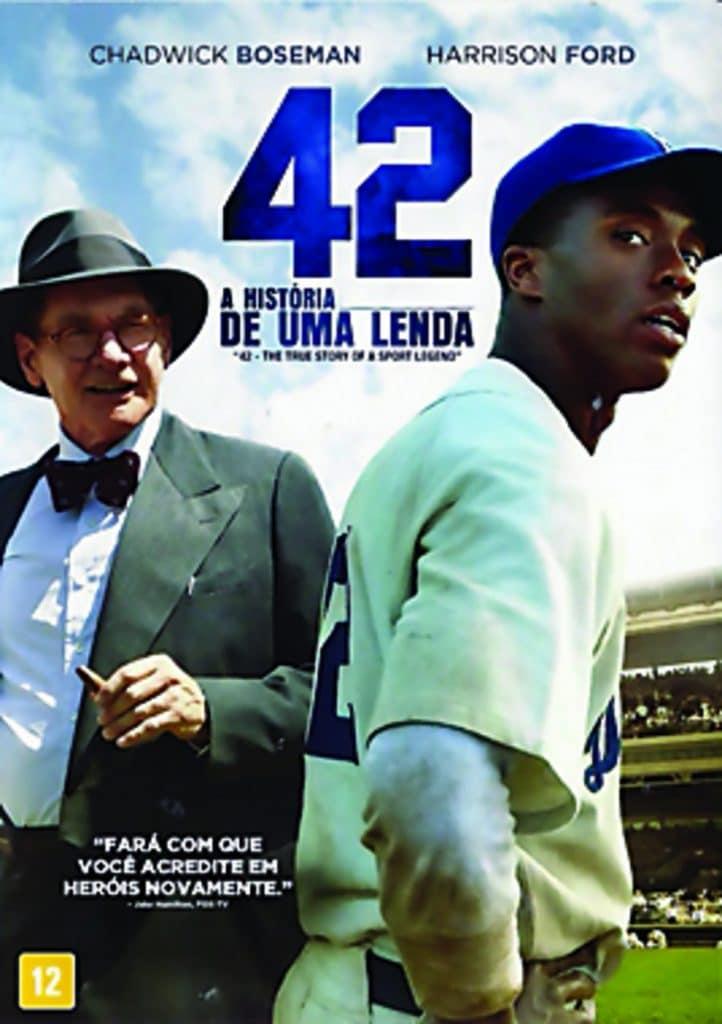 42: A História de Uma Lenda conta a história do primeiro atleta negro a jogar na MLB
