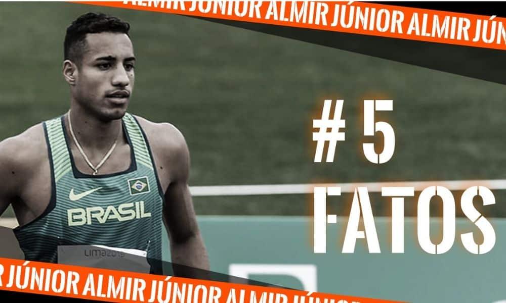 Almir Júnior, do salto triplo, 5 fatos para
