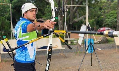 Bernardo Oliveira Lockdown Knockout tiro com arco