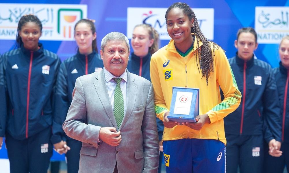 Ana Cristina Zé Roberto Garota de 16 anos Brasil Sesc - Ana Cristina - seleção brasileira de vôlei - Olimpíada de Tóquio 2020