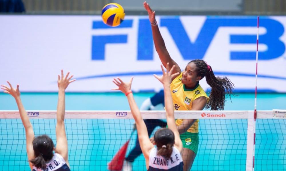 Ana Cristina - seleção brasileira de vôlei - Jogos Olímpicos de Tóquio 2020