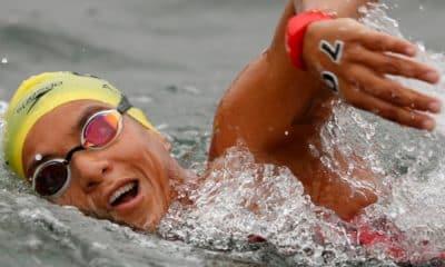 Ana Marcela Medalha Tóquio ana marcela cunha maratona aquática natação feminina Travessia Capri-Napoli