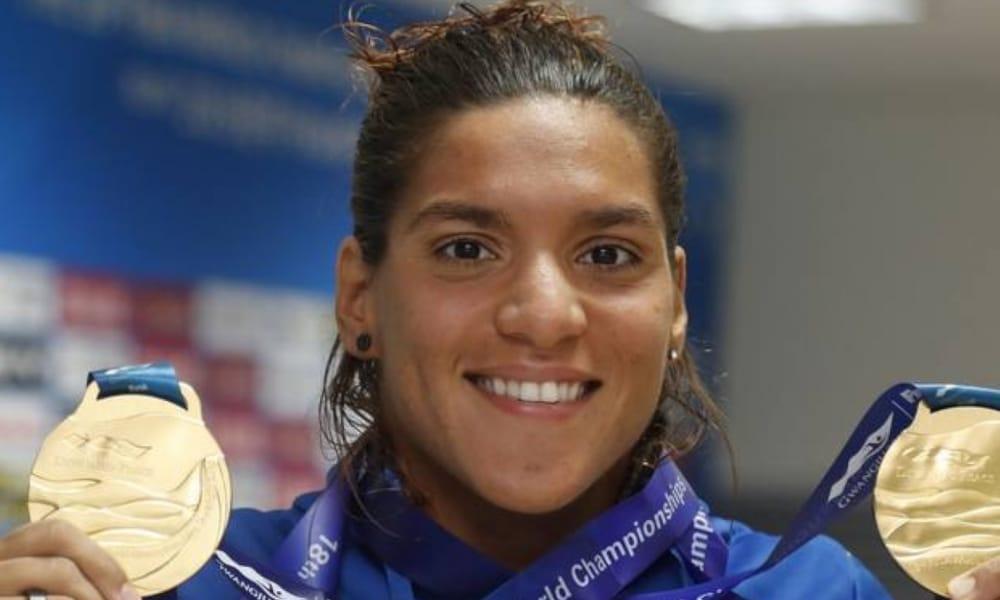 Ana Marcela Medalha Tóquio Atleta