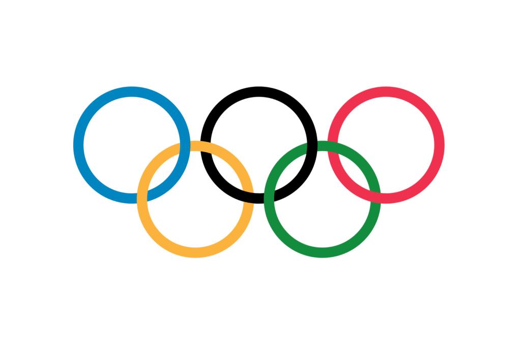 bandeira olímpica desenho
