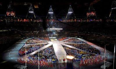 Cerimônia de encerramento dos Jogos Olímpicos de Londres-2012 sede