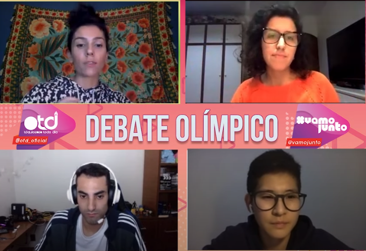 Debate Olímpico Douglas Souza Caroline Kumahara