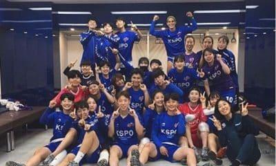 Nathane sul-coreano de futebol feminino Red Angels