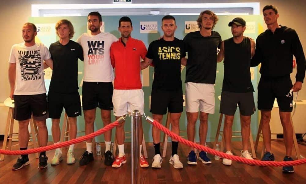 Djokovic Adria Tour