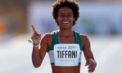 Tiffani Marinho é a esperança do futuro do revezamento 4x400 m do Brasil