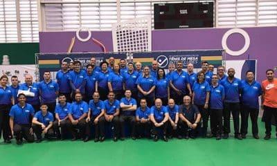 Árbitros brasileiros ITTF