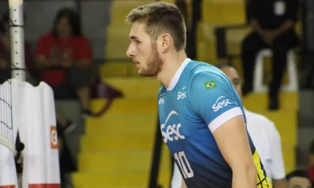 Daniel Cagliari reforça Cambrai Volley