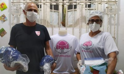 Campanha Solidária Polo Aquático Brasil