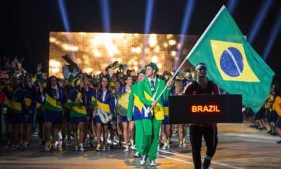 Dia Olímpico Ágatha Ygor Coelho Bruna Takahashi Arthur Nory Renato Rezende Duda Lisboa Pepê Gonçalves