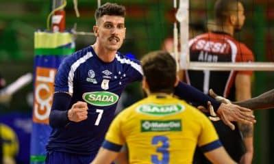 Facundo Conte Sada Cruzeiro Vôlei Elenco