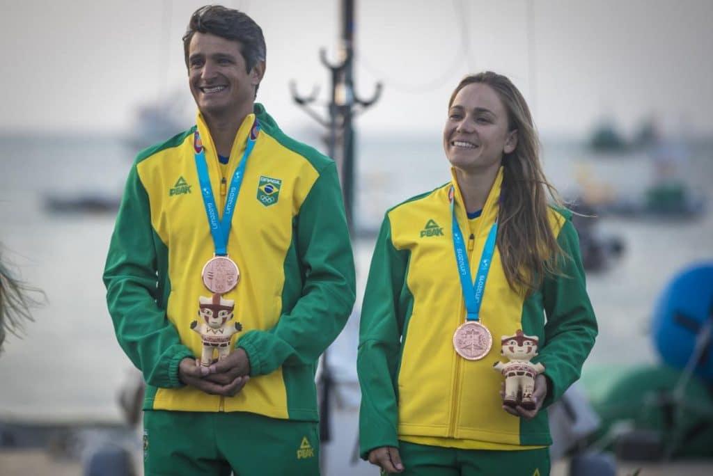 Gabriela Nicolino e Samuel Albrecht