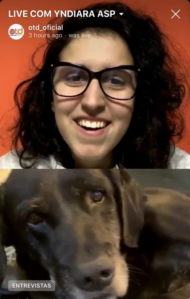 Ansiosa pelos Jogos Olímpicos de Tóquio, Yndiara Asp falou ao OTD sobre seus sonhos, inspirações e do seu cão, chamado de Tony Hawk