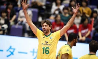 Lucão - seleção brasileira de vôlei - Jogos Olímpicos de Tóquio 2020