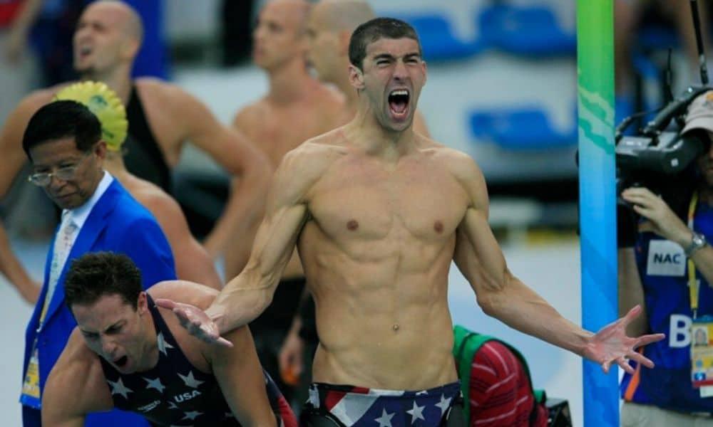 Michael Phelps recordista de medalhas de ouro numa única edição dos Jogos Olímpicos Pequim-2008