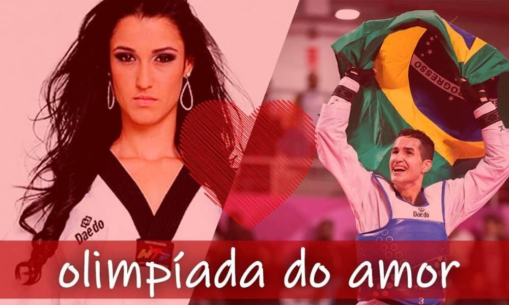 Talisca Reis e Netinho do taekwondo participam da Olimpíada do Amor | Arte Caio Poltronieri