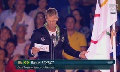 Igualdade de gênero juramento olímpico Robert Scheidt