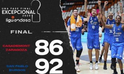 San Pablo Burgos Liga ACB