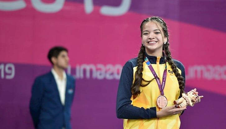 Lethícia Lacerda deverá disputar sua primeira Paralimpíada. Foto: Douglas Magno/Exemplus/CPB