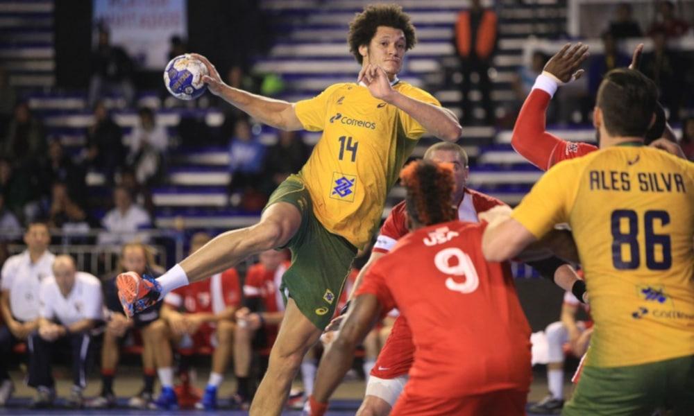 Thiagus Petrus Handebol Brasil Pré-Olímpico Tóquio