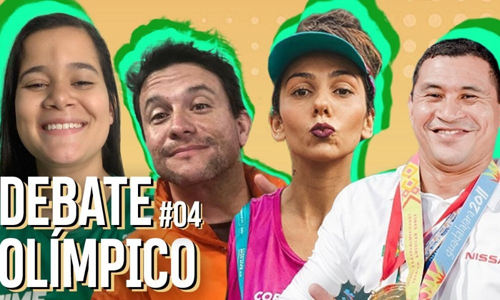 Arte do Debate Olímpico com Verônica Hipólito, Fernando Gavini, Jojoca e Clodoaldo Silva