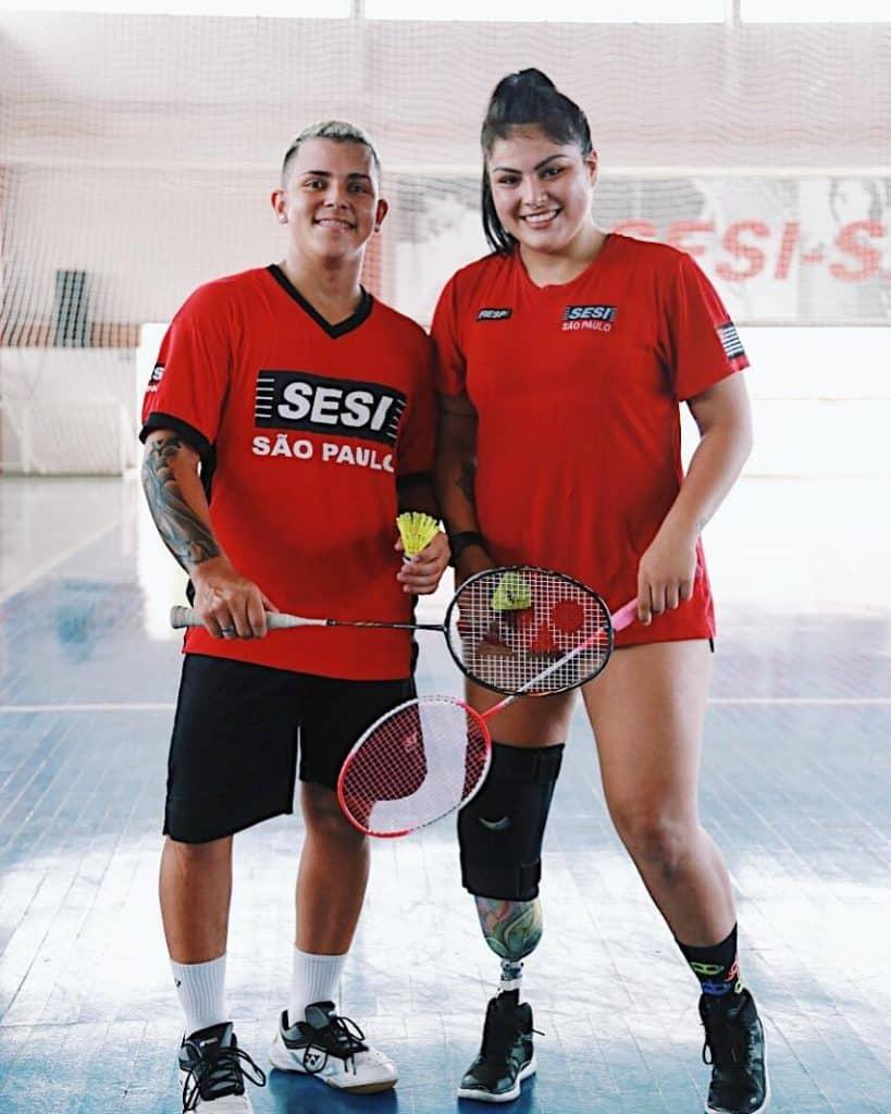Edwarda Dias - Duda Dias - Rogério Júnior - Parabadminton