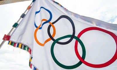 Bandeira Jogos Olímpicos Olimpíadas Tóquio 2020