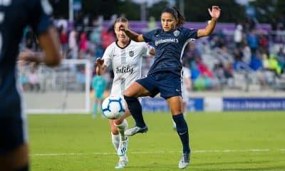 Debinha futebol feminino North Carolina Courage Challenge Cup