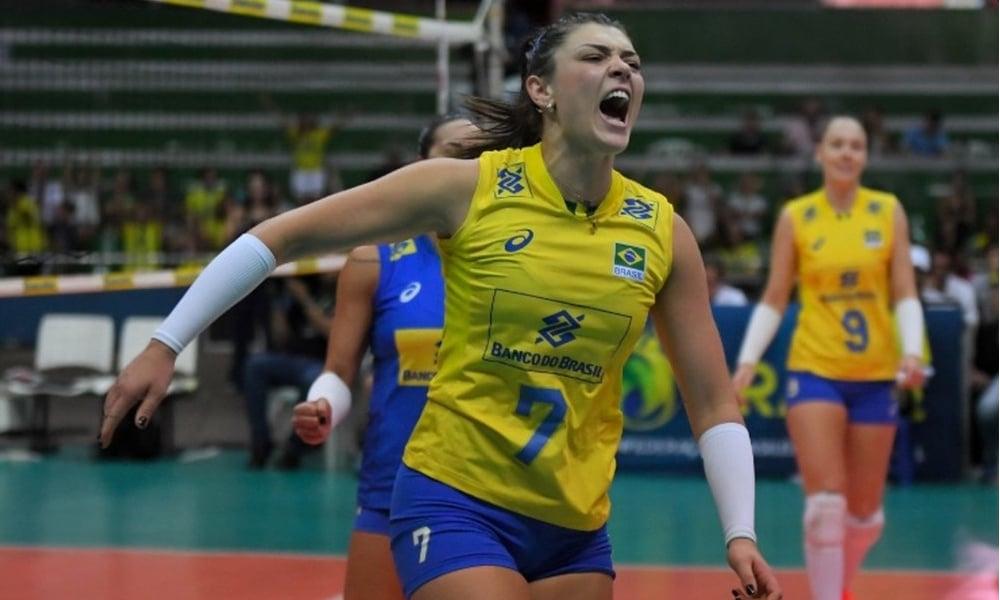 Rosamaria Vôlei Casalmaggiore Itália - Jogos Olímpicos de Tóquio 2020 - seleção brasileira de vôlei feminino