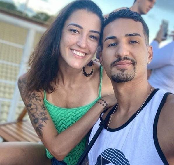 Dia dos Namorados Atletas Talisca e Netinho, o casal do taekwondo